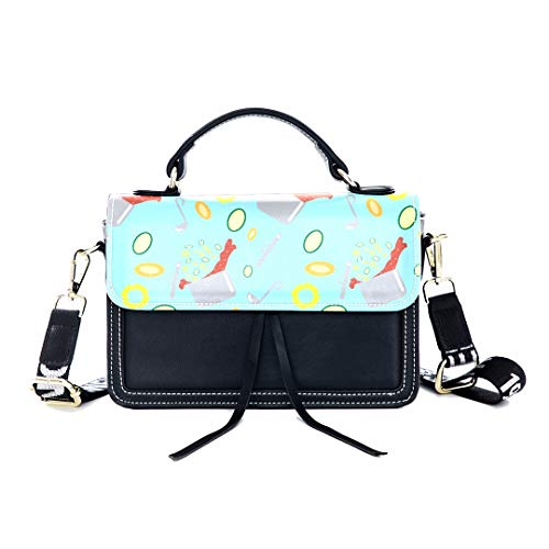 Fashion Unique Handbag Knife Tool Hand-painted Creativity Print Shoulder Bag Top Handle Tote Flap Over Satchel Purses Crossbody Bags Messenger Bags For Women Ladies