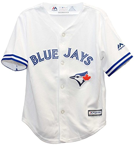 - Toronto Blue Jays Home Cool Base Infant and Toddler Size Jerseys (12 Months)