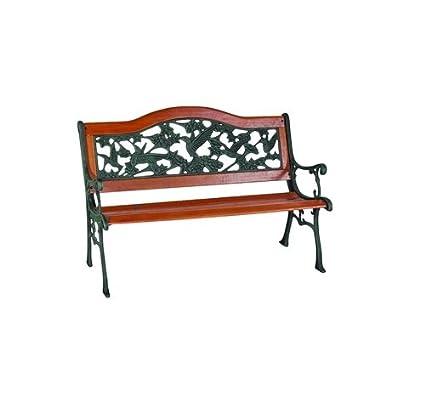 Miraculous Soundbest Int Sourceing Sxl Pb7104 N 9 Slat Hummingbird Park Bench Andrewgaddart Wooden Chair Designs For Living Room Andrewgaddartcom