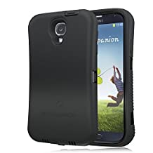 [180 days warranty] ZeroLemon Samsung Galaxy S4 ZeroShock Shockproof/Dustproof Shockproof/Dustproof Rugged Midnight Black / Viper Black Case + Holster/KickStand + Screen Protector for 7500mAh Extended Battery Case Battery NOT Included(Compatible with AT&T I337, Verizon I545, Sprint L720, T-Mobile M919, International I9500 & I9505) S4-R-Black/Black