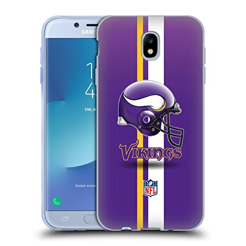 - Official NFL Helmet Minnesota Vikings Logo Soft Gel Case for Samsung Galaxy J7 2017 / Pro