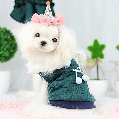 MJD Perros Abrigos Verde / Azul Ropa para Perro Primavera/Oto?o Moda , green , xl: Amazon.es: Juguetes y juegos