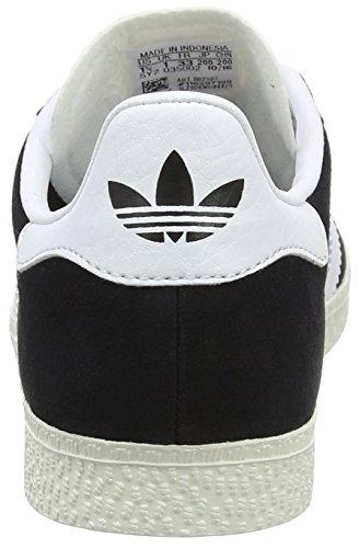 adidas Unisex-Kinder Gazelle Sneaker Schwarz (Core Black/ftwr White/gold Met.)