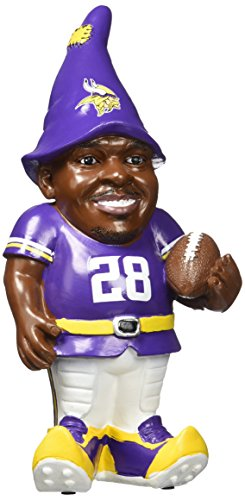 FOCO Minnesota Vikings Peterson A. #28 Resin Player Gnome by FOCO