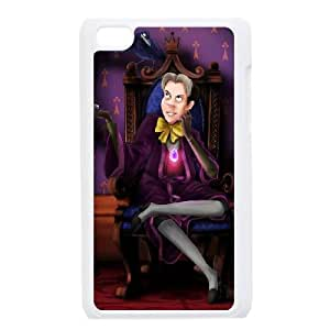 iPod Touch 4 Case White Disney Sofia the First Character Cedric the Sorcerer vcmz