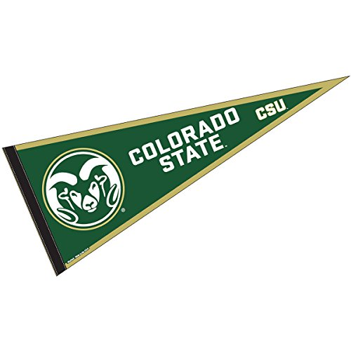 - College Flags and Banners Co. Colorado State University Pennant Full Size Felt