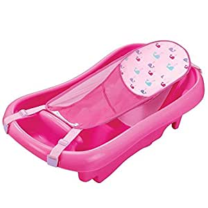 The First Years Newborn to Toddler Tub (With Bath Sling)