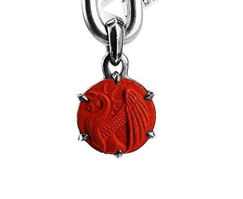 david-yurman-solid-st-silver-petrus-griffin-amulet-poppy-jasper-pendant-new-1p