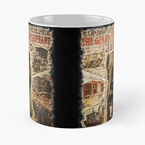 Vintage Jumbo Elephant Circus - Best Gift Ceramic Coffee Mugs
