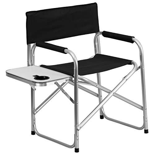 Aluminum-Folding-Camping-Chair-with-Table-and-Drink-Holder