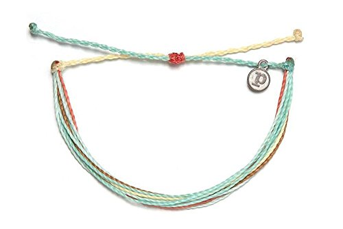 Pura Vida Baja Blast Bracelet - Iron-Coated Copper Charm, Adjustable Band - 100% Waterproof (Beaded Watches Handmade)