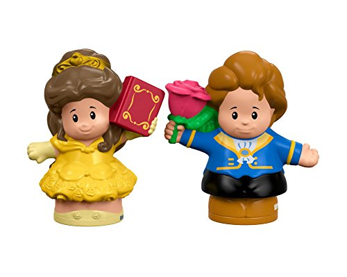 Fisher-Price Little People Disney Princess, Belle & Prince (Little People Prince)