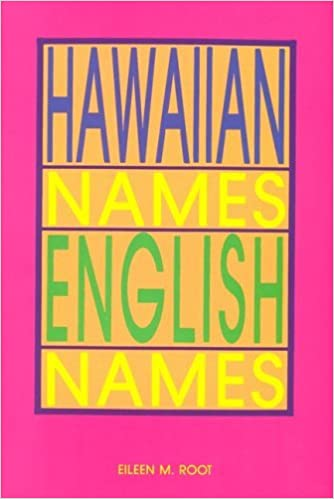 Hawaiian names