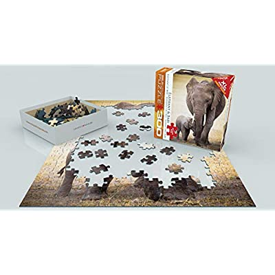 EuroGraphics African Pride Parent's Love Growing Journey Calf Instep Giant Affection Puzzle: Toys & Games