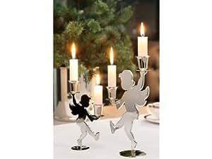 Fink HOLY-DANCER candelabro, danzando, versil. Altura :{24}, 5 cm AS