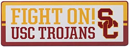 Open Road Brands NCAA Slogan Wood Wall D/écor