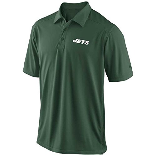 Nike Mens Shortsleeve New York Jets Coaches Polo Green/White Small 537405-323 (Nike Knit Skirt)