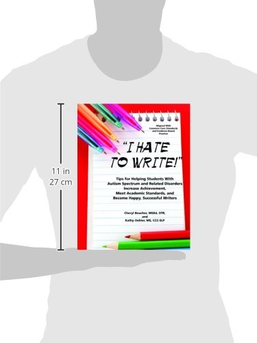 I Hate to Write: Tips for Helping Students with Autism Spectrum ...