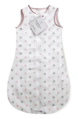 Swaddle Sleeping Sack with 2-Way Zipper, Cozy Micro Fleec...