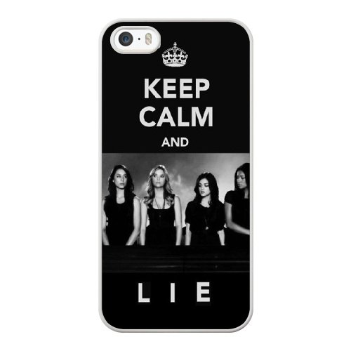 Coque,Coque iphone 5 5S SE Case Coque, Pretty Little Liars Theme Song Cover For Coque iphone 5 5S SE Cell Phone Case Cover blanc