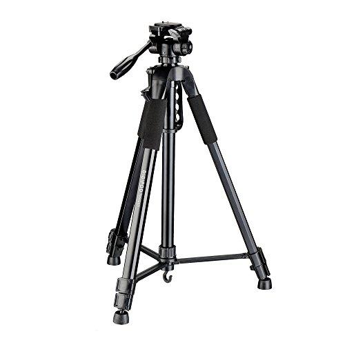 LIKEA 70-Inch Camcorder Tripod With Bag for SLR Camera Canon Nikon Sony Fuji Pentax Tamron Olympus Sigma