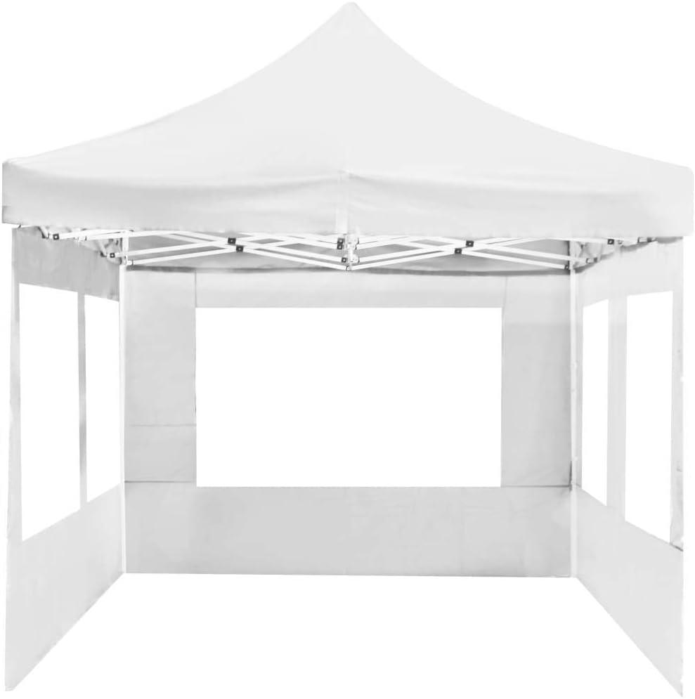 yorten Carpa Plegable Profesional con Paredes para Fiestas Diseño Clásico Estructura de Aluminio 6x3 m Blanco: Amazon.es: Hogar