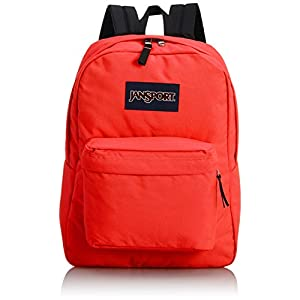 JanSport T501 Superbreak Backpack 2014 Winter Collection (Fluorescent Red)