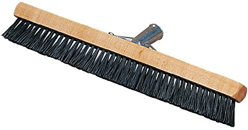 Carlisle 3629703 Pile Brush, Wood Block, 1-3/4'' Black Nylon Bristles, 18'' Overall Length (Case of 12)