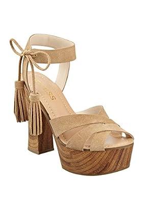 GUESS Women's Prenna Platform Heels