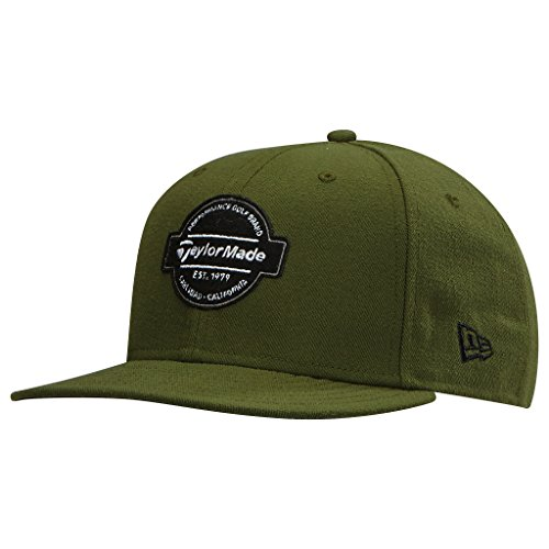 taylormade-new-era-9fifty-flux-cap-olive