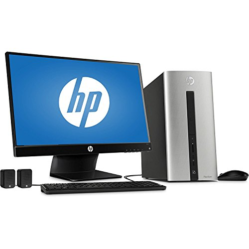 2018 HP Pavilion 550  Desktop Computer, Intel Dual-Core i3-4170 Processor 3.7GHz, 6GB Memory, 1TB HDD, 23