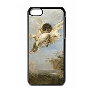 Protection Cover Hard Case Of Cupid Cherub Cell phone Case For Iphone 5C