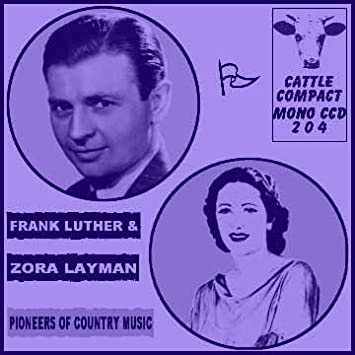Image result for frank luther and zora layman