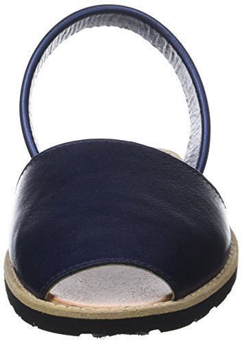Ouvert Azul Avarca Bout Bleu Femme bleu Minorquines Sandales Métal EvHcvqp