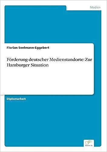 Book Förderung deutscher Medienstandorte: Zur Hamburger Situation