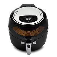 Deals on Modernhome Cyclone 1350-Watt Rotating Digital 7 Qt. Air Fryer