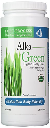 Dr. Morter's Alka Green Barley Juice by Morter Healthsystem - 10 oz Powder (Best Process Alka Green)