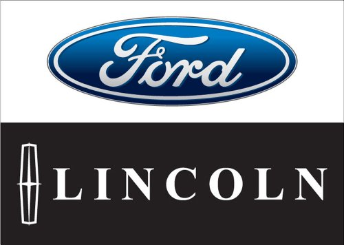 Review Ford Lincoln Auto Logo