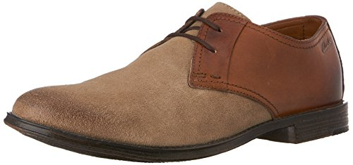 Clarks Hawkley Paseo Oxford Wolf Combo