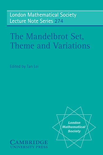 - The Mandelbrot Set, Theme and Variations (London Mathematical Society Lecture Note Series Book 274)