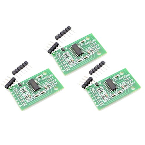 HiLetgo 3pcs HX711 Weighing Sensor Dual-Channel 24 Bit Precision A/D Module  Pressure Sensor
