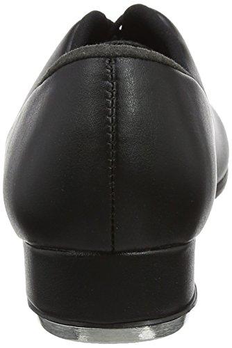 Así Que Danca Ta05 Black Lace Up Tap Shoe