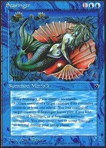 Magic: the Gathering - Seasinger - Fallen Empires