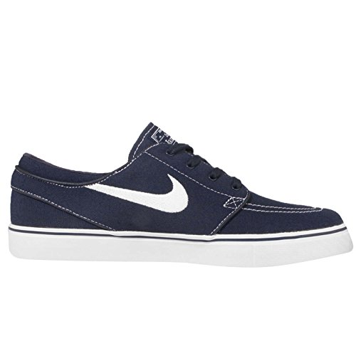 Nike Zoom Stefan Janoski Cnvs, Scarpe da Skateboard Unisex Adulto Obsidian/White-gum Light Brown