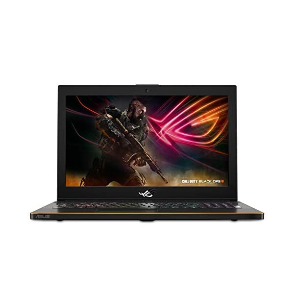 "ASUS ROG Zephyrus M (GM501GS-XS74) 15.6"" Ultra Slim Gaming Laptop, 144Hz IPS-Type G-SYNC Panel, GTX 1070 8GB, Intel Core i7-8750H (up to 3.9GHz), 256GB PCIe SSD + 1TB FireCuda, 16GB DDR4 2666MHz 1"