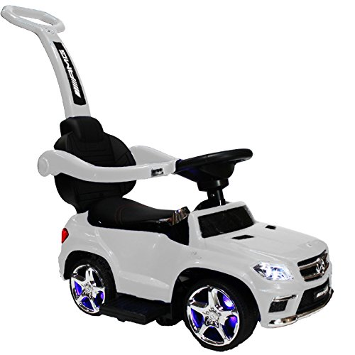 Ride-on Toys SXZ1578WH Mercedes Ride-On White Ride On Push