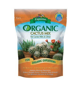Espoma CA4 4-Quart Organic Cactus Mix (Best Commercial Potting Soil)