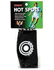 Unique Soccer Hot Spots Shoe Lace Cover, Black