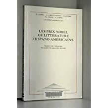 Prix nobels de litterature
