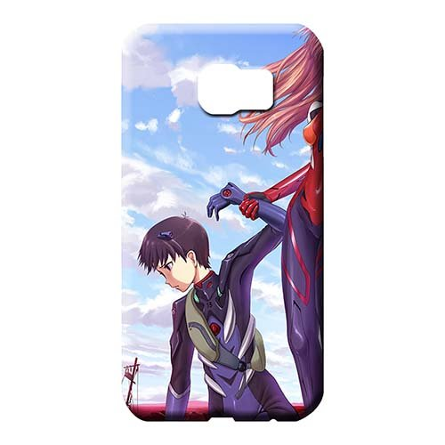 Phone Covers Protector Neon Genesis Evangelion The End of Evangelion Collectibles Scratch-proof Protection Cases Samsung Galaxy S6 Edge Plus+